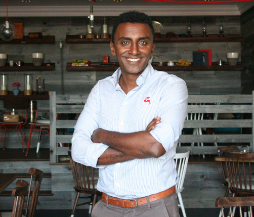 Celebrity Chef Marcus Samuelsson. *Photo by Sarah Lagan